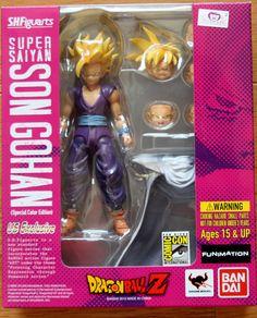 Dragon Ball Kai: Super Saiyan Gohan S.H. Figuarts Action Figure (SDCC Version)