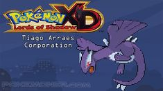 http://www.pokemoner.com/2016/10/pokemon-xd-lords-of-shadow.html Pokemon XD Lords of Shadow  Name:  Pokemon XD Lords of Shadow  Platform(s):  RPGXP  Created by:  Tiagou Chiha  Description:  Pokemon XD Lords of Shadow is a fangame made in RPGMaker XP. Story A trama de Pokémon XD Lords of Shadow se resume nas tentativas da equipe Rocket em querer capturar um Pokémon lendário o Darklugia  que é um Pokémon diferente de qualquer outro já visto por se tratar de um ser de natureza malignaeste…