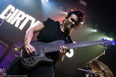 Dirty Loops at Royale in Boston, MA, October 24, 2014: Henrik Linder