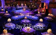JW Marriot Grosvenor House Great Room - Reception Decor