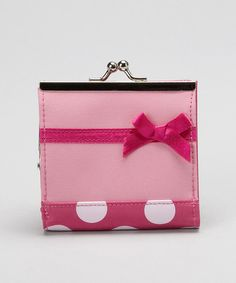 Take a look at this Pink Polka Dot Wallet  by Horizon Dance on #zulily today!