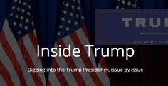#Política #trump Una web para no perder nada de lo que Trump haga en sus primeros 100 días
