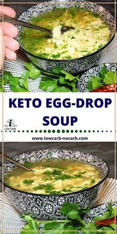 Keto Egg Drop Soup Low Carb perfect dish to warm you up throughout the whole winter recipes easy recipes flat belly recipes lose weight meals recipes low calorie recipes vegetarian diet recipes Beef Soup Recipes, Healthy Diet Recipes, Ground Beef Recipes, Ketogenic Recipes, Ketogenic Diet, Salad Recipes, Pescatarian Recipes, Chicken Recipes, Slow Cooker Keto Recipes