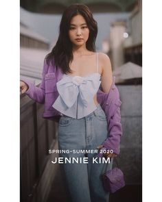 Black Pink Yes Please – BlackPink, the greatest Kpop girl group ever! Blackpink Fashion, Korean Fashion, Fashion Outfits, Kim Jennie, Black Pink Kpop, Facon, Look At You, Up Girl, South Korean Girls