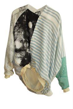 anntian. Asymmetrical jacket