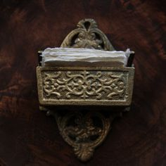 Victorian Style Match Holder