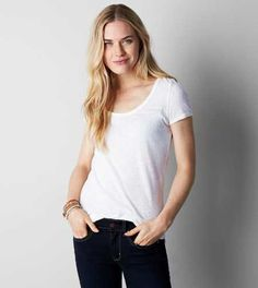 AEO Real Soft® Favorite Scoop T-Shirt - Buy One Get One 50% Off