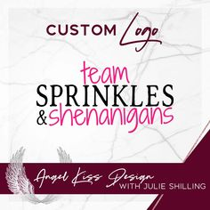 Text logo for Team Sprinkles & Shenanigans