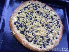 Bezlepkový borůvkový koláč -