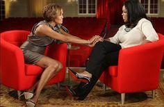 Oprah interviewed Whitney.