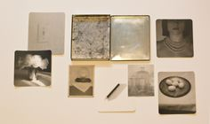 One Week Without You - Seven silver gelatin prints in an vintage silver case - www.jeffersonhayman.com