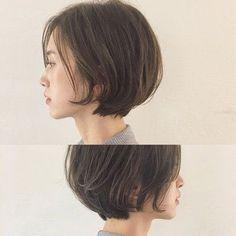 57 hottest short bob haircuts for women 00066 ~ Litledress Bob Haircuts For Women, Short Bob Haircuts, Hairstyles Haircuts, Pretty Hairstyles, Cut My Hair, Love Hair, Midi Hair, Shot Hair Styles, Stylish Hair