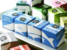 Japanese milk #packaging. Mammal stories. PD