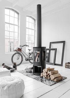 15 idées de cheminées ou poêles à bois