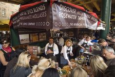 Borough Market - close to London Bridge and exceptional market well worth a visit