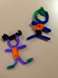 A PSR Gathering: Pipe cleaner worry dolls