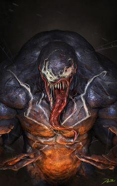 Venom by Adnan Ali   Fan Art   3D   CGSociety