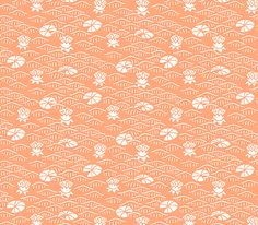 Afternoon Lily from Take A Hike! Collection by @Jessica Pollak for The Printed Bolt Repeat design competition. #fabric #spoonflower #design #quilting_fabric #the_printed_bolt