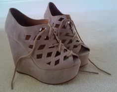 These are my favorite shoes. :) I have these and black!! do you think I love them?