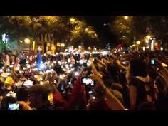 Santa Bárbara bendita en la calle Princesa