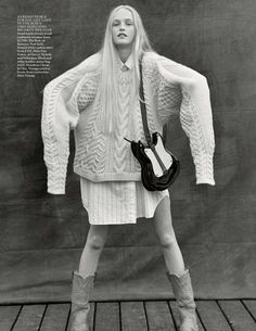 visual optimism; fashion editorials, shows, campaigns & more!: meet me in montauk: jean campbell by bruce weber for uk vogue october 2013