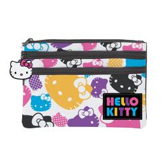Hello Kitty Colors Flat Cosmetic Pouch 17.50
