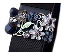 FitBit bling - fabulous way to fitness fashion. Bling out your Fitbit Charge or Charge HR