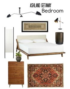 Client Concept: Ashland Getaway Bedroom by Tara Dawkins - An elegant, cozy, and comfortable couple's retreat with a transitional-modern style.