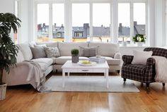 Howard Hörnsoffa | Englesson | Länna Möbler| living room | couch | scandinavian interior design