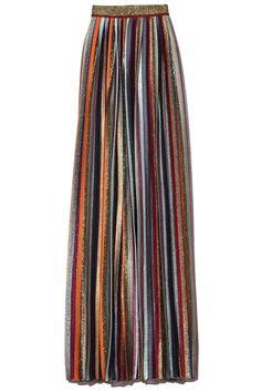 Hampden Clothing, Striped Maxi, Chiffon Skirt, Vertical Stripes, Ulla Johnson, Knit Skirt, Missoni, Daily Fashion, World Of Fashion