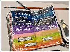 Jorunns fristed: Mandags Art Journaling. Moleskine, Art Journaling, In This Moment, How To Make, Art Diary, Art