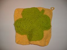 Shamrock pot holder