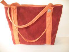 large tote laptop bag big bag back to school by LIGONaccessories, $69.00