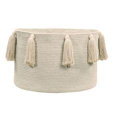 Basket Tassels, Natural
