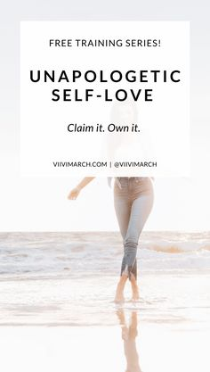 Join the FREE training! How to get unapologetic about self-love: a free training series for women who are ready to take back their power. How To Control Emotions, Understanding Emotions, Self Development, Personal Development, Thoreau Quotes, Confidence Boosters, Coping With Stress, Improve Mental Health, Philosophy Quotes