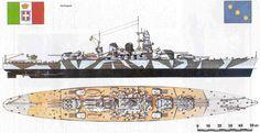 Charles David Cobb, The Battle of Cape Matapan, 29 March olio su tavola 49 x 80 cm (National Museum of the Royal Navy, Portsmouth). New Battleship, Naval History, Navy Marine, Armada, Navy Ships, Model Ships, Royal Navy, Wwii, World War Two
