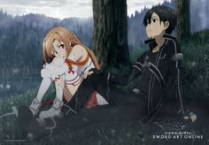 Sword Art Online Vol. 3 Wandrolle Asuna & Kirito 69 x 96 cm