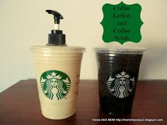 Coffee Lotion & Coffee Scrub (Coffee Lover Gift Idea)
