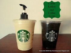 Coffee Lotion & Coffee Scrub (Coffee Lover Gift Idea)
