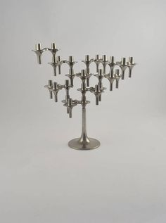 9 Nagel BMF orion candle holders with base west german bmf