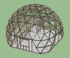 Dome construction Geodesic Sphere, Geodesic Dome Homes, Dome Structure, Dome Greenhouse, Eco Buildings, Or Noir, Dome Tent, Dome House, Round House