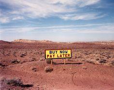 Route 64 West of Route 89, Arizona, 1986 - David Graham