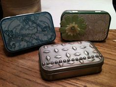 Altoid tins ~ great project