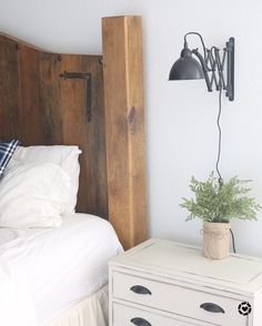 When I ordered these accordion wall lamps they were on backorder. I was so excited when they finally shipped! And they are my favorite for bedside lamps! Giving you a peak at our freshly remodeled master bedroom! http://liketk.it/2sCwI #liketkit @liketoknow.it