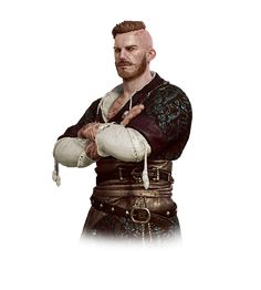 """Olgierd von Everec from """"Hearts of Stone"""", """"The Witcher"""" (polish game - """"Wiedźmin"""") Elf Characters, Video Game Characters, Fantasy Characters, Rogue Character, Character Art, Olgierd Von Everec, The Withcer, Wild Hunt, Character Design"""