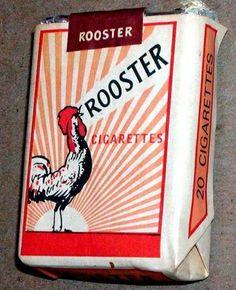 Rooster Cigarette Pack Kenya