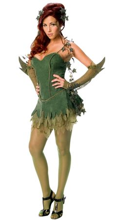 Poison Ivy costume - fancy being an environmental terrorist this Halloween?