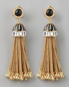 RAchel zoe tassel #earrings #jewelry