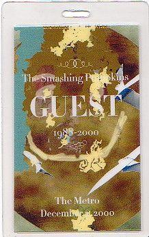 Smashing Pumpkins | December 2000