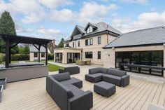 5 bedroom detached house for sale in Stunning new house - adjoining the Mere Golf Resort - Rightmove. House Layout Design, House Layouts, Modern House Design, Home Design Floor Plans, Dream Home Design, New House Plans, Dream House Plans, Style At Home, House Extension Design